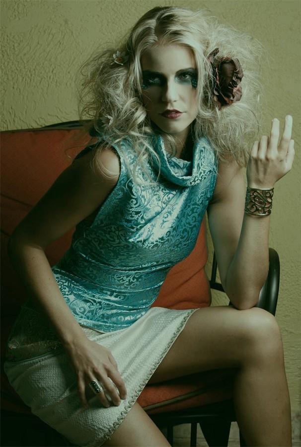 Mersina Blackman model. Photoshoot of model Mersina Blackman demonstrating Fashion Modeling.Hair: monica solaDesigner: House of DaliFashion Modeling Photo #102396