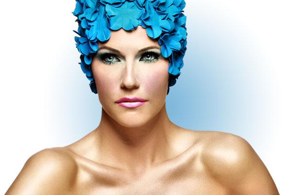 Mersina Blackman model. Mersina Blackman demonstrating Face Modeling, in a photoshoot with Makeup done by Jodi Gross.Makeup Artist: Jodi GrossFace Modeling Photo #102397