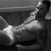 Michael Born model. Photoshoot of model Michael Born demonstrating Body Modeling.Body Modeling Photo #109255