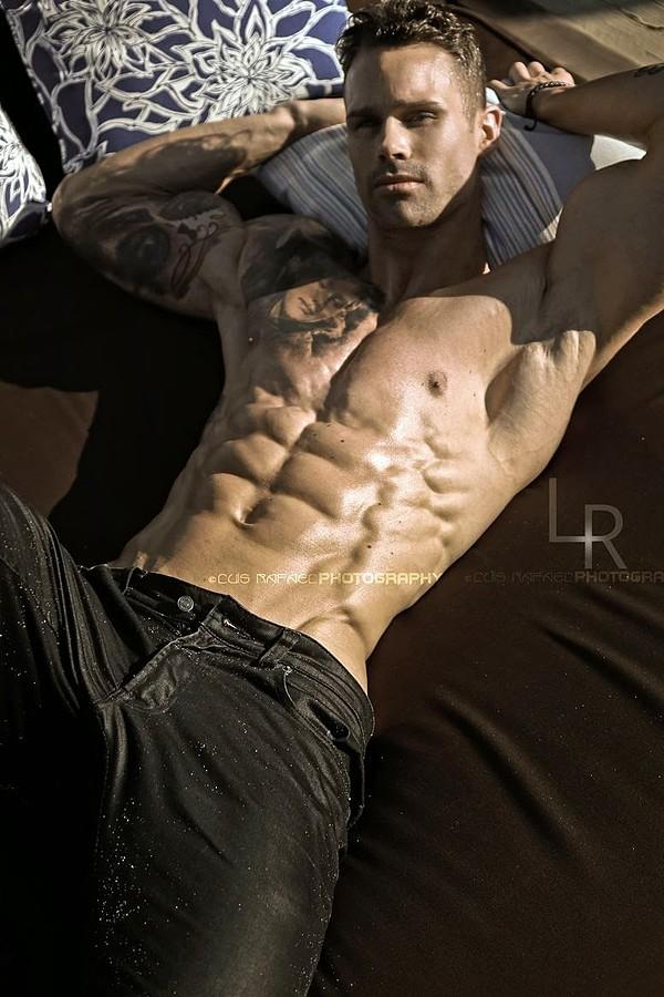 Michael Born model. Photoshoot of model Michael Born demonstrating Body Modeling.Body Modeling Photo #109266