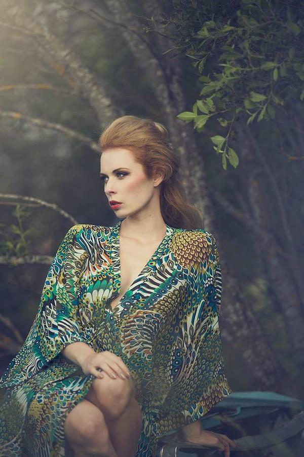 Michaela Backlund model. Photoshoot of model Michaela Backlund demonstrating Face Modeling.Face Modeling Photo #112982