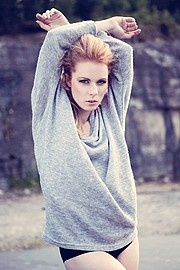 Michaela Backlund model. Photoshoot of model Michaela Backlund demonstrating Face Modeling.Face Modeling Photo #112992