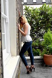Michaela Corejova model. Photoshoot of model Michaela Corejova demonstrating Fashion Modeling.Fashion Modeling Photo #228151