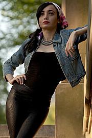 Michelle Bobe model. Photoshoot of model Michelle Bobe demonstrating Fashion Modeling.Fashion Modeling Photo #114353