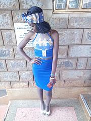 Kweyu Michelle is a Kenyan model based in Nairobi Kenya. She has just begun her modeling career and has done runway shows for Modella fashio