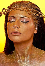 Mihaela Manole model. Photoshoot of model Mihaela Manole demonstrating Face Modeling.Face Modeling Photo #94789
