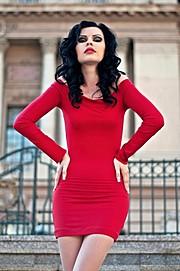 Mihaela Manole model. Photoshoot of model Mihaela Manole demonstrating Face Modeling.Face Modeling Photo #94783