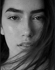 Mihaela Todorova model (Μιχαέλα Τοντορόβα μοντέλο). Photoshoot of model Mihaela Todorova demonstrating Face Modeling.Face Modeling Photo #230064
