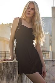 Mina Tzana model (μοντέλο). Photoshoot of model Mina Tzana demonstrating Fashion Modeling.Fashion Modeling Photo #161742
