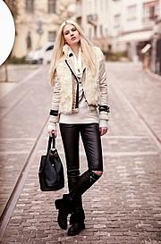 Mina Tzana model (μοντέλο). Photoshoot of model Mina Tzana demonstrating Fashion Modeling.Fashion Modeling Photo #161760