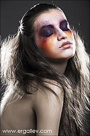 Miroslava Badikova model (модель). Photoshoot of model Miroslava Badikova demonstrating Face Modeling.Face Modeling Photo #77949