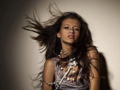 Miroslava Badikova model (модель). Photoshoot of model Miroslava Badikova demonstrating Face Modeling.Face Modeling Photo #77955