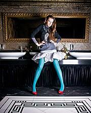 Miroslava Badikova model (модель). Photoshoot of model Miroslava Badikova demonstrating Face Modeling.Face Modeling Photo #77948