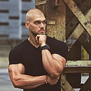 """Mischa Janiec started working out at age 18. Years of hard work and discipline have brought him into this awesome shape. His nickname """"Polsk"""