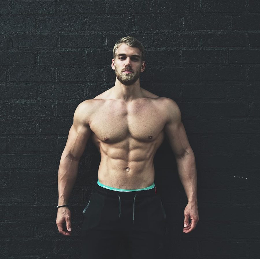 Mischa Janiec natural bodybuilder. Photoshoot of model Mischa Janiec demonstrating Body Modeling.Body Modeling Photo #188147