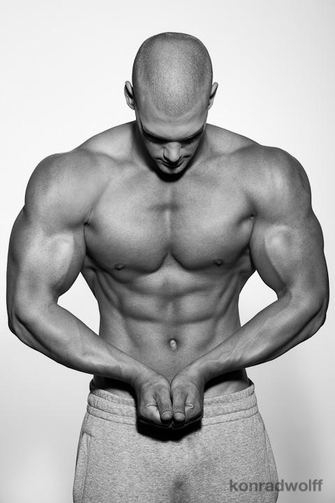Mischa Janiec natural bodybuilder. Photoshoot of model Mischa Janiec demonstrating Body Modeling.FitnessBody Modeling Photo #73676