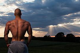 Mischa Janiec natural bodybuilder. Modeling work by model Mischa Janiec. Photo #89410