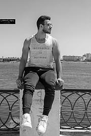Mohamed Abd Elhakim model. Photoshoot of model Mohamed Abd Elhakim demonstrating Fashion Modeling.Fashion Modeling Photo #200670