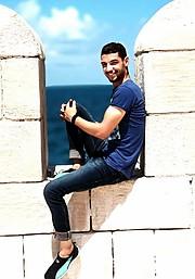 Mohamed Bakier model. Photoshoot of model Mohamed Bakier demonstrating Fashion Modeling.Fashion Modeling Photo #201073