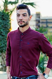 Mohamed Bakier model. Photoshoot of model Mohamed Bakier demonstrating Fashion Modeling.Fashion Modeling Photo #205659