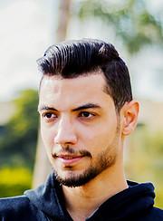 Mohamed Bakier model. Photoshoot of model Mohamed Bakier demonstrating Face Modeling.Face Modeling Photo #205666