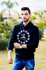 Mohamed Bakier is an Egyptian-Turkish model and actor based in Giza. He worked as a model for few new brands like Storo. He is a theatre act