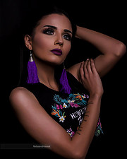 Mohamed Gamal photographer. Work by photographer Mohamed Gamal demonstrating Portrait Photography in a photo-session with the model Mera Elhalawany.model: mera elhalawanyPortrait Photography Photo #209786