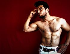 Mohammed Modar model. Photoshoot of model Mohammed Modar demonstrating Body Modeling.Body Modeling Photo #201201