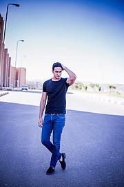 Mohmmed Fayez model. Photoshoot of model Mohmmed Fayez demonstrating Fashion Modeling.Fashion Modeling Photo #209735