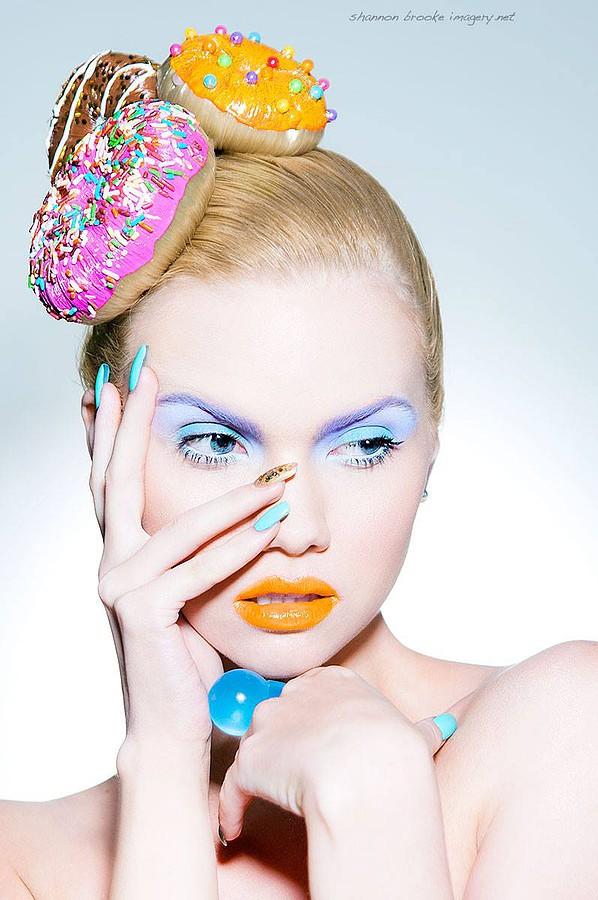 Jennifer Corona makeup artist, Molly Morris model, Shannon Brooke photographer. Photoshoot of model Molly Morris demonstrating Face Modeling.Portrait Photography,Face Modeling,Beauty Makeup Photo #54900