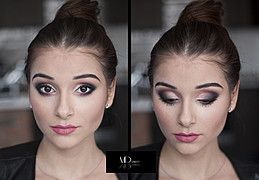 Monica Dulska makeup artist & photographer (sminka & ljósmyndari). Work by makeup artist Monica Dulska demonstrating Beauty Makeup.Beauty Makeup Photo #171373