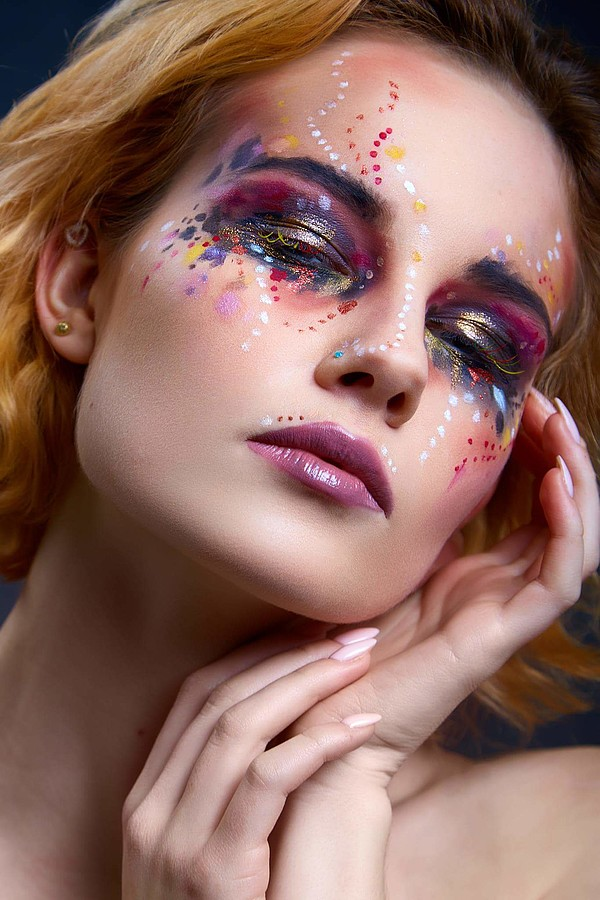 Monica Dulska makeup artist & photographer (sminka & ljósmyndari). Work by makeup artist Monica Dulska demonstrating Creative Makeup.Creative Makeup Photo #181266