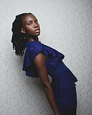 Monini Mier u model. Photoshoot of model Monini Mier u demonstrating Fashion Modeling.Photography : victor peaceWardrobe : dress_bila_stressFashion Modeling Photo #166057