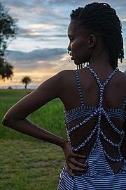 Monini Mier u model. Photoshoot of model Monini Mier u demonstrating Fashion Modeling.Photography : Maingi KuriaEditorial Scene,See Through DressFashion Modeling Photo #166242