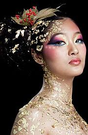 Morena Abellar makeup artist. Work by makeup artist Morena Abellar demonstrating Creative Makeup.Creative Makeup Photo #64235