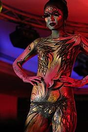 Morena Abellar makeup artist. Work by makeup artist Morena Abellar demonstrating Body Painting.Body Painting Photo #64247