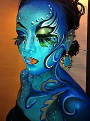 Morena Abellar makeup artist. Work by makeup artist Morena Abellar demonstrating Body Painting.Body Painting Photo #64260