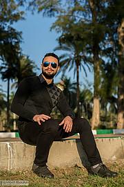 Muhammed Bilal model. Photoshoot of model Muhammed Bilal demonstrating Fashion Modeling.Fashion Modeling Photo #204382