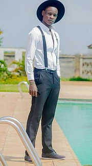 Mwita Wyclif Boke is a Kenyan model based in Nairobi. His has been modeling since 2016 and his work includes fashion photoshoots as well as