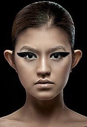 Myah Underwood makeup artist & hair stylist. Work by makeup artist Myah Underwood demonstrating Beauty Makeup.Beauty Makeup Photo #172567