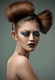 Myah Underwood makeup artist & hair stylist. Work by makeup artist Myah Underwood demonstrating Beauty Makeup.Beauty Makeup Photo #172569