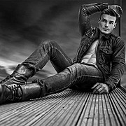 Myles Leask model. Photoshoot of model Myles Leask demonstrating Fashion Modeling.Fashion Modeling Photo #202239