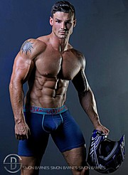Myles Leask model. Photoshoot of model Myles Leask demonstrating Body Modeling.Body Modeling Photo #104002