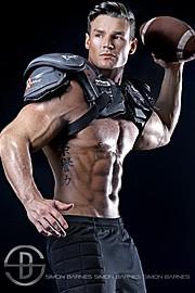 Myles Leask model. Photoshoot of model Myles Leask demonstrating Body Modeling.Body Modeling Photo #103985