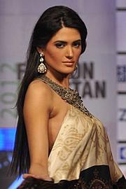Nadia Kashif model. Photoshoot of model Nadia Kashif demonstrating Face Modeling.Face Modeling Photo #171228