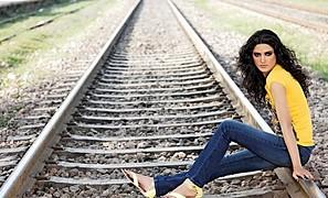 Nadia Kashif model. Photoshoot of model Nadia Kashif demonstrating Fashion Modeling.Fashion Modeling Photo #171237