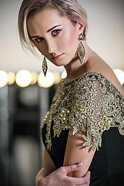 Nadiia Nechypurenko model. Photoshoot of model Nadiia Nechypurenko demonstrating Face Modeling.Face Modeling Photo #187272