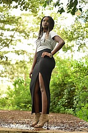 Naomi Auma is an aspiring model currently based in Nairobi. She has participated in fashion commercials. Naomi also holds a Bachelor's Degre