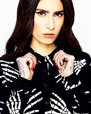 Nastazia Terzoglou model (μοντέλο). Photoshoot of model Nastazia Terzoglou demonstrating Face Modeling.Face Modeling Photo #197644