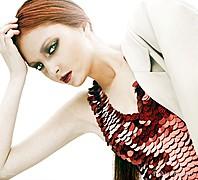 Natalia Gautier model (модель). Photoshoot of model Natalia Gautier demonstrating Face Modeling.Face Modeling Photo #70662